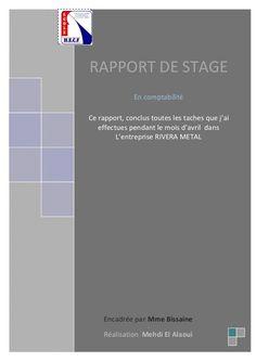 - 1 - SOMAIRE REMERCIEUMENT AVANT PROPOS PRESENTATION : PRESENTATION DE L'ENTREPRISE FICHE TECHNIQUE L'ORGANIGRAME LE CORP...