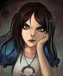 [Fan Art]Alice in Magic Land Alice Liddell, Alice Madness Returns, We All Mad Here, Dark Alice In Wonderland, Chibi, Halloween Horror, Creepypasta, Beautiful Artwork, Dark Art