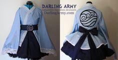 Water Tribe - Avatar - Cosplay Lolita Kimono Dress by DarlingArmy on deviantART