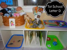 The Montessori on a Budget blog: Montessori and Tot Time Pre-school Letter D