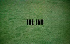 The end, Blow up, Antonioni 1966