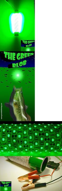lights 123489: 12-24v led green fishing light underwater, Reel Combo