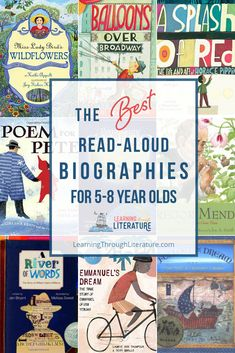 Read aloud children's biographies to inspire your children to greatness and see them soar. Reading Resources, Book Activities, Reading Lists, Sequencing Activities, Best Children Books, Childrens Books, Kid Books, Detective