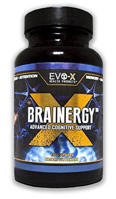 EVO-X Health Products Brainergy-X Supplement 120 Capsules