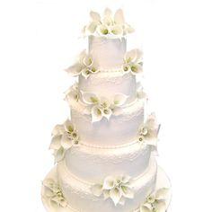 Wedding-Cakes | Carlos Bakery: Cake Boss Wedding Cake W203 |... ❤ liked on Polyvore
