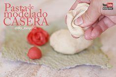 receta pasta para modelar casera
