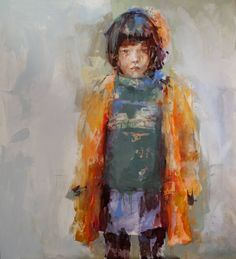 "Saatchi Art Artist Fernanda Cataldo; Painting, ""Clara"" #art"