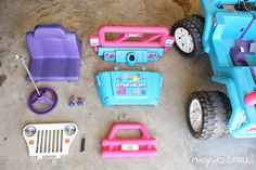 barbie jeep makeover | willy's jeep