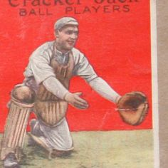๑ Nineteen Fourteen ๑ historical happenings, fashion, art & style from a century ago - Cracker Jack Baseball Cards, ca. 1914