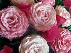 Roses cupcake bouquet
