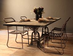 Axle Dining Table, XL bobointriguingobjects.com