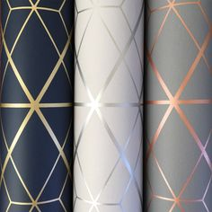 Metro Diamond Geometric Wallpaper – Charcoal and Copper – Diamant Geometrische Tapete Copper Wallpaper, Metallic Wallpaper, Modern Wallpaper, Blue And Gold Wallpaper, Chic Wallpaper, Teal Wallpaper Accent Wall, Grey Wallpaper Hallway, Grey Kitchen Wallpaper, Blue Colour Wallpaper