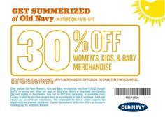 30% Off Old Navy Coupon - See more at ourfrugalfamily.net