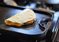 Cheesy Venison Soft Tacos and Crispy Quesadillas
