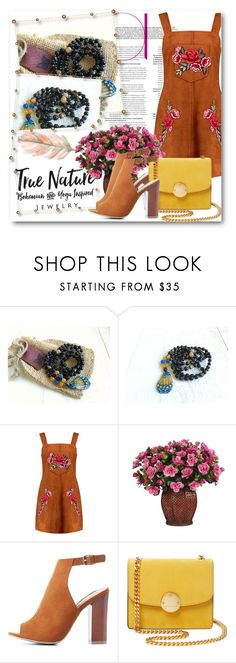 """True Nature Jewelry 5"" by fashionmonsters ❤ liked on Polyvore featuring Boohoo, Nearly Natural, Bamboo and Marc Jacobs"