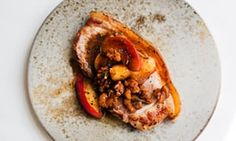 Nigel Slater's pork escalope with apples and walnuts recipe   Life and style   The Guardian