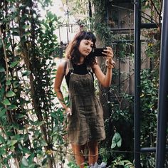 vintage overall dress, Casey