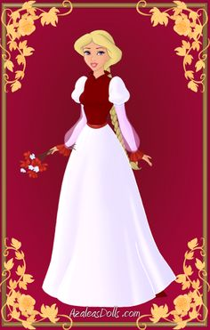 Odette { Red and White Dress } by ~kawaiibrit on deviantART