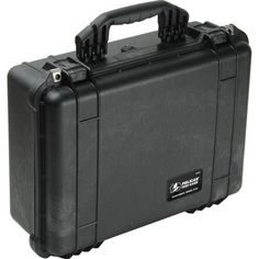 The Pelican 1520 Watertight Case with Foam (Black) is an unbreakable, watertight, airtight, dustproof, chemical-resistant and corrosion-proof hard case used to carry any kind of equipment that needs to be protected from the elements. It is made of Ultra High Impact structural copolymer, which makes it extremely strong and durable.