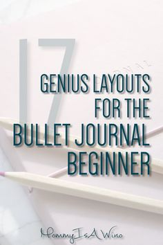 Bullet Journal Spreads for beginners - Bullet Journal Layouts and Habit Trackers - How to Start a Bullet Journal - 17 Genius Layouts for the Bullet Journal Beginner #BulletJournal #BuJoLove #Bujo #bulletjournalspreads #bujospreads #bulletjournallayouts #bujolayouts