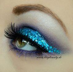 Ocean Breeze  Makeup idea ~ love!