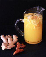 Lemon Ginger Turmeric Detox Tea it has so many skin changing benefits. Moles, brown spots reduced by drinking ginger water infusion. Detox Drinks, Healthy Drinks, Healthy Recipes, Tea Recipes, Cooking Recipes, Drink Recipes, Turmeric Detox, Ginger Detox, Turmeric Root