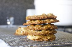 coconut brown butter cookies by smitten, via Flickr  Will make ahead! Serve with dark chocolate ice cream.