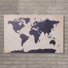 World Map Canvas Print | Joss & Main