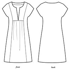 Colette frock pattern - Mojave, a perfect summer dress. Colette frock pattern - Mojave, a perfect summer dress. Frock Patterns, Tunic Sewing Patterns, Plus Size Sewing Patterns, Colette Patterns, Clothing Patterns, Summer Dress Patterns, Fashion Sewing, Sewing Clothes, Dressmaking