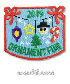 Ornament Fun 2019 Girl Scout Fun Patches, Cool Patches, Girl Scouts, Badges, Kids Rugs, Map, Ornaments, Name Badges, Kid Friendly Rugs