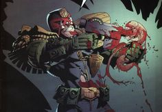 judge dredd vs aliens 2