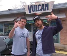 Alright, Alright: Jimmy Kimmel and Matthew McConaughey filmed a hilarious TV commercial for local Austin, Texas business Vulcan Video