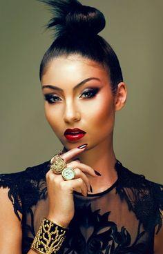 Hair & Makeup Flawless.... Yasmin Shahmir Looooove