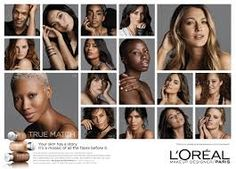 Image result for loreal true match campaign