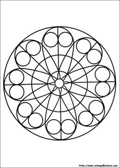 free-mandala-coloring-pages-for-kids-printable-coloring-worksheets - Coloring Pages For Kids Mandala Coloring Pages, Coloring Book Pages, Coloring Pages For Kids, Coloring Sheets, Mandala Art, Zentangle Patterns, Zentangles, Free Printable Coloring Pages, Pointillism