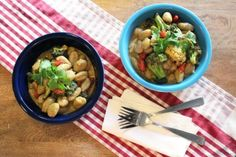 Curried Gnocchi with Roasted Veggies