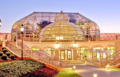 Phipps Conservatory and Botanical Gardens in Pittsburgh via the University of Pittsburgh website. I love this place!!