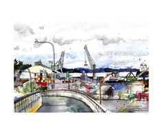Port of Everett  /// Sketchy Everett Series