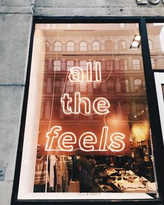 All the feels - Neon lights
