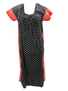 Summer Cool Kaftan Dress Bohemian Cotton Long Maxi Dress For Women's