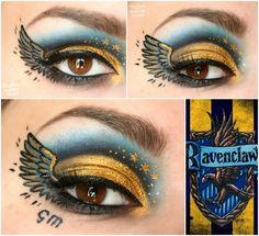 Ravenclaw Makeup. Harry Potter Inspired Makeup.