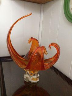 1960's Chalet Art Glass