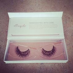 In love! Oh So Sweet mink eyelashes from ESQIDO.com.