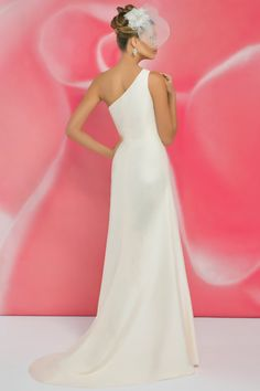 Style *I102 » Wedding Dresses » Ivory Collection » Pearl Bridals » Available Colours : Ivory, White (back)