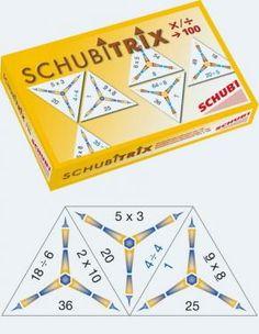 Schubitrix spellen voor groep 3-8. Op veel gebieden is er een spel beschikbaar. o.a. tafels, gewichten, lengte, oppervlakte, tijd, optellen/aftrekken.