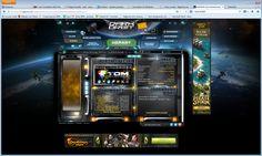 Et voici l'écran principal, de là tout se fait. http://fr.bigpoint.com/darkorbit/