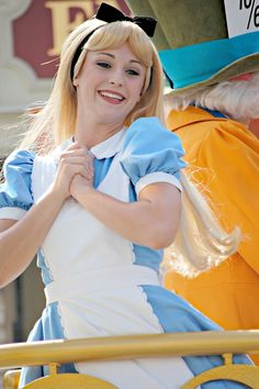 Alice in Wonderland--Disneyland Alice