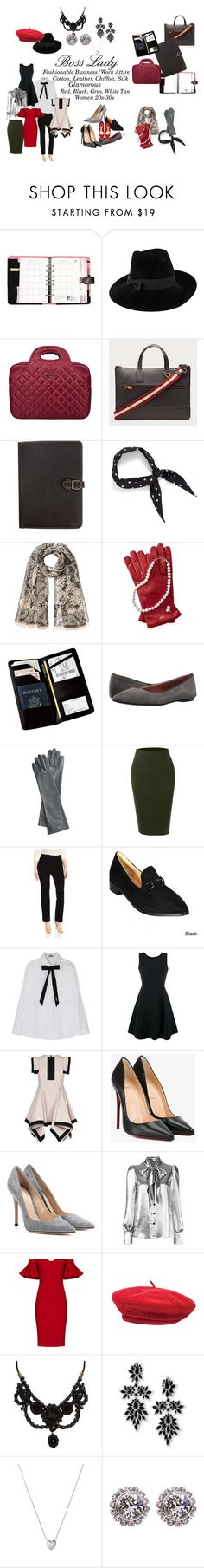 """""""Boss Lady"""" by stashaymadison on Polyvore featuring ACCO, Mademoiselle Slassi, Bally, Canyon Outback Leather, Halogen, Etro, Mark & Graham, Royce Leather, Summit by White Mountain and LE3NO"""