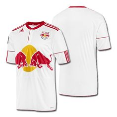Adidas New York Red Bulls 2012 Home Jersey. The Red Bulls aim to be the 4871eb5d51b48