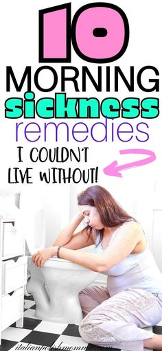 Morning sickness remedies for your first trimester that work! Here are 10 morning or all day sickness remedies that worked like magic for my first trimester of pregnancy! These all natural morning sickness remedies helped me survive 4 pregnancies! Find out what I used to treat my morning sickness and help make your pregnancy easier! #morningsickness #pregnancyfirsttimester #pregnancy #pregnancynausea Natural Morning Sickness Remedies, Remedies For Nausea, Natural Remedies, Pregnancy First Trimester, Trimesters Of Pregnancy, Pregnancy Advice, Pregnancy Health, Nausea During Pregnancy, Help With Morning Sickness